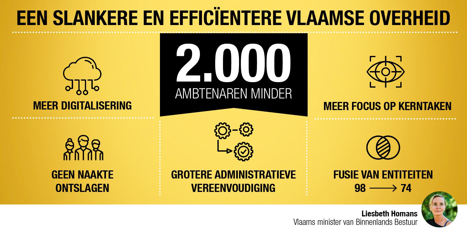 Slanke Vlaamse overheid