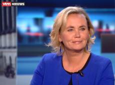 Liesbeth Homans in VTM Nieuws