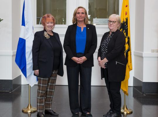 Schotse delegatie