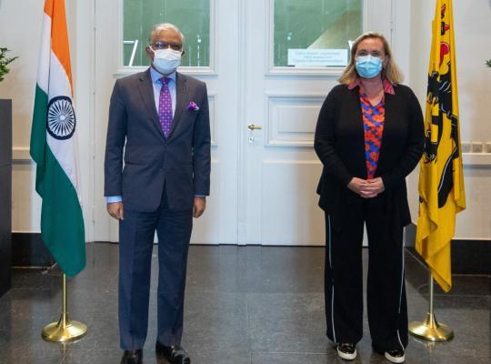 Ambassadeur Republiek India