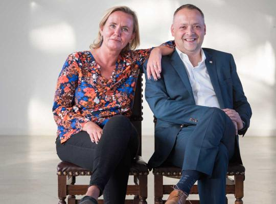 Liesbeth Homans en Fons Duchateau
