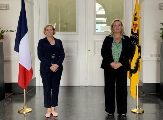 Ambassadrice Frankrijk