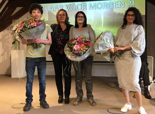Liesbeth Homans lanceerde 'Maatwerk' op een event voor de sociale en beschutte werkplaatsen